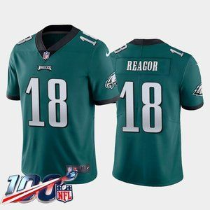 Philadelphia Eagles Jalen Reagor Green Jersey